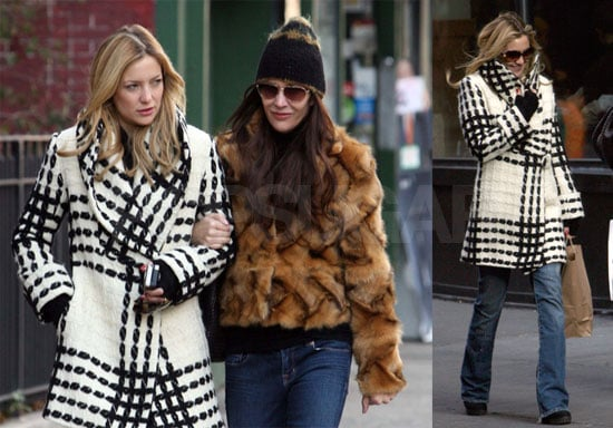 Kate Hudson Shows Off More of Her Coat Collection