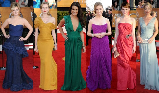 Photos from the red carpet at the 2010 Screen Actors Guild Awards
