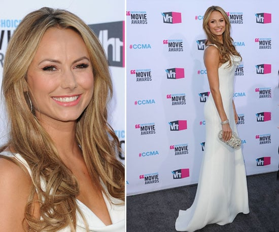 Stacy Keibler at Critics' Choice 2012