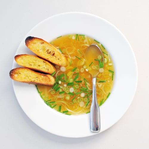 Green Garlic Broth