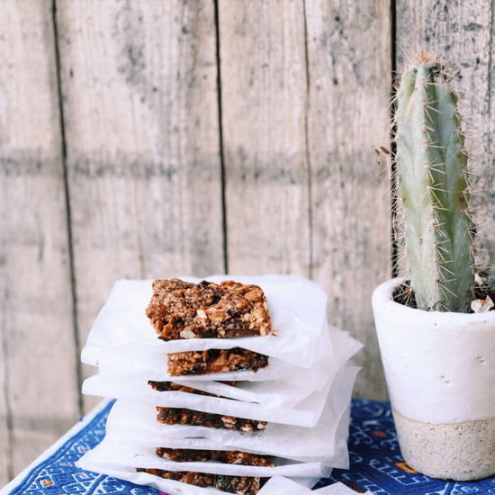 Aztec Fruit Bars Recipe