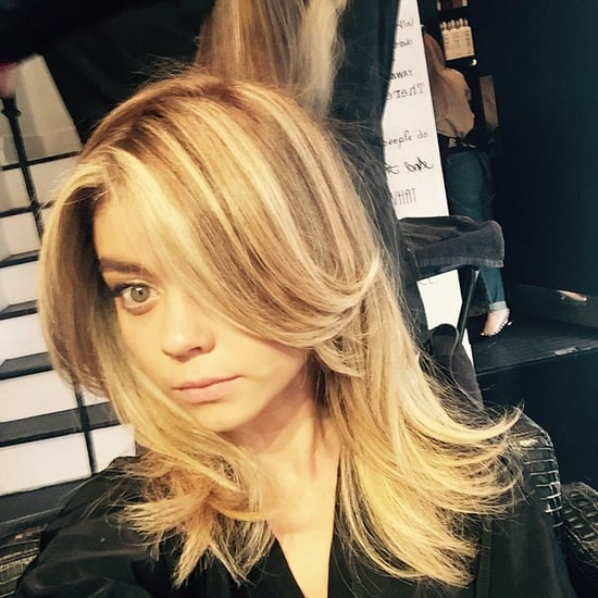 Sarah Hyland With Blonde Hair 2014