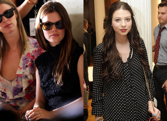Rachel Bilson Nails, Michelle Trachtenberg Nails