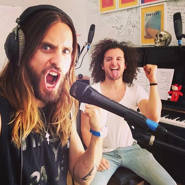 Jared Leto had a lot of fun. Source: Instagram user jaredleto