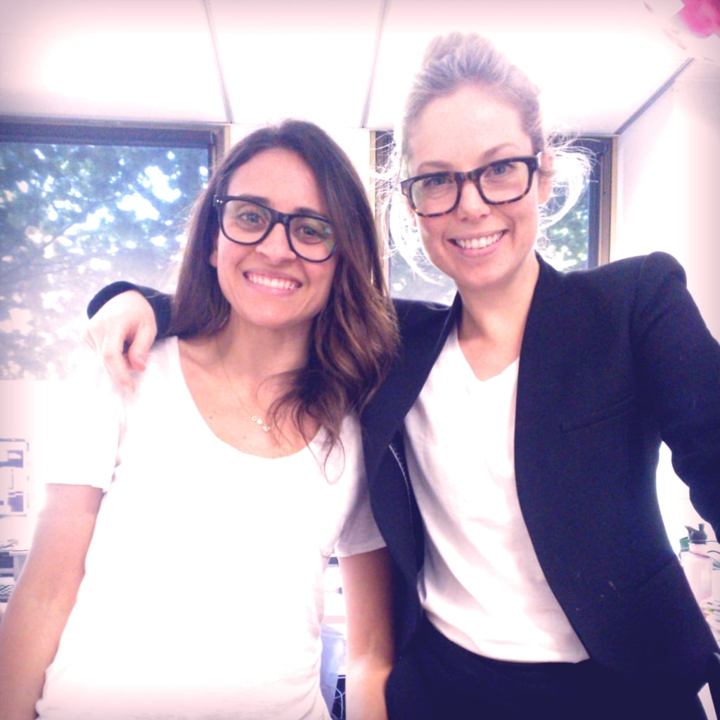 Marisa and Ali get their geeky chic on thanks to new specs from Bailey Nelson.