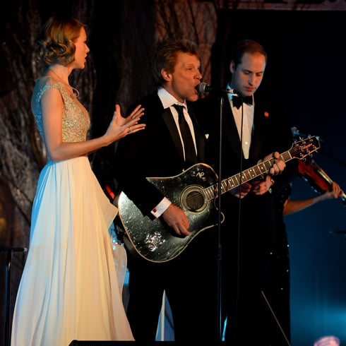 Prince William Sings With Taylor Swift