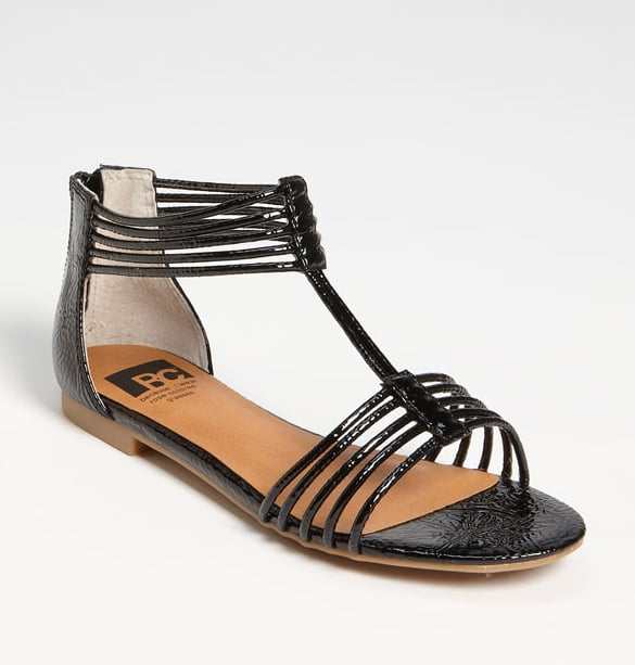 If you're a fan of strappier sandals, this patent leather version is sophisticated enough for more formal affairs, but retains its laid-back cool, too. BC Footwear 'Sway' Sandal ($50)