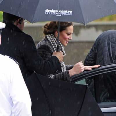 Kate Middleton Shopping at Home Store in London Photos