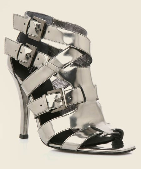 Fabworthy: Marciano Analisa Metallic Gladiator Sandal
