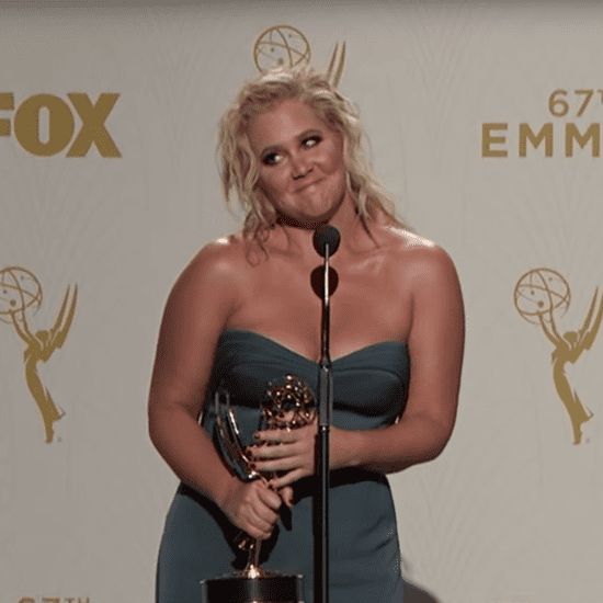 Amy Schumer Press Room Emmys Interview Video