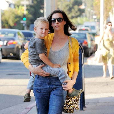 Liv Tyler and Her Son Milo Out in LA