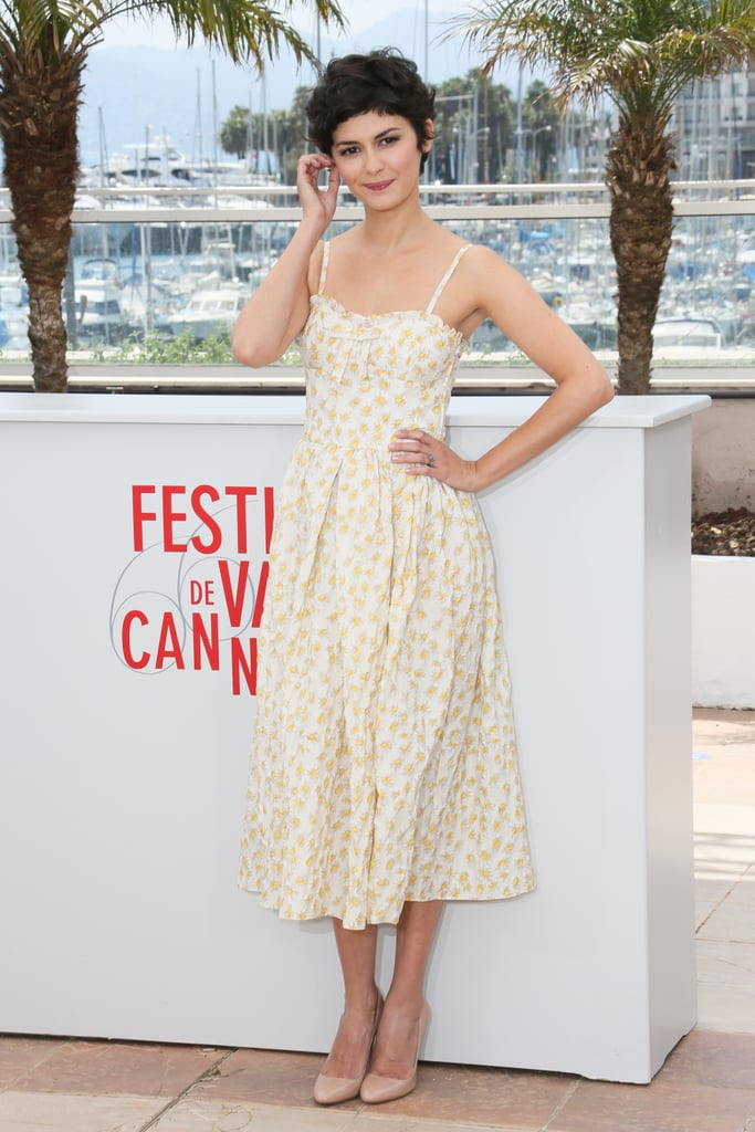 French film actress Audrey Tautou attended a special photocall for the annual Cannes Film Festival.