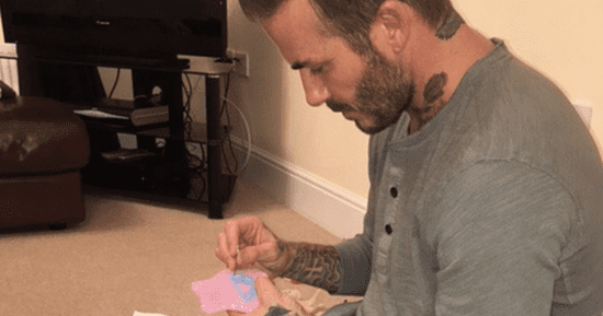 What David Beckham Does For Daughter Harper Is Truly Aww-Worthy