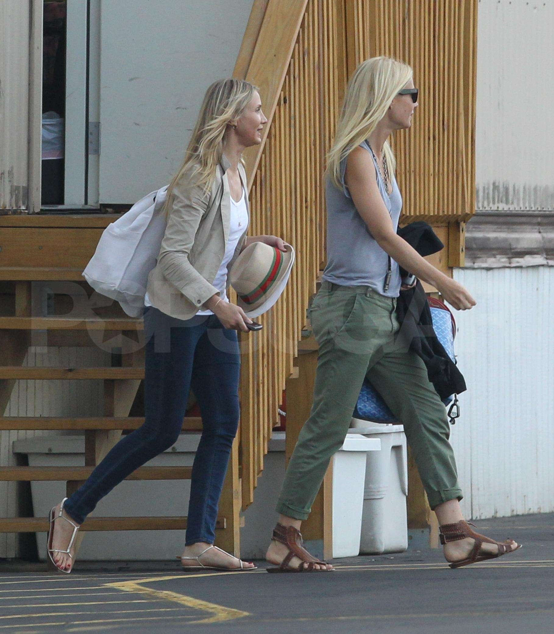 Pictures of Cameron, Gwyneth and Alex