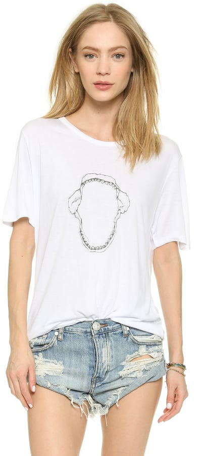 Mikoh Shark Jaws Beach Tee ($92)