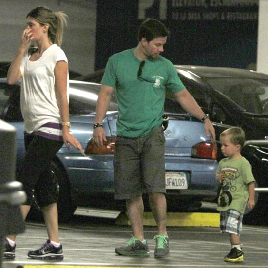 Mark Wahlberg, Rhea Durham, and Son Brendan Pictures