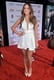 Chloe Bennet donned a dress with a plunging neckline.