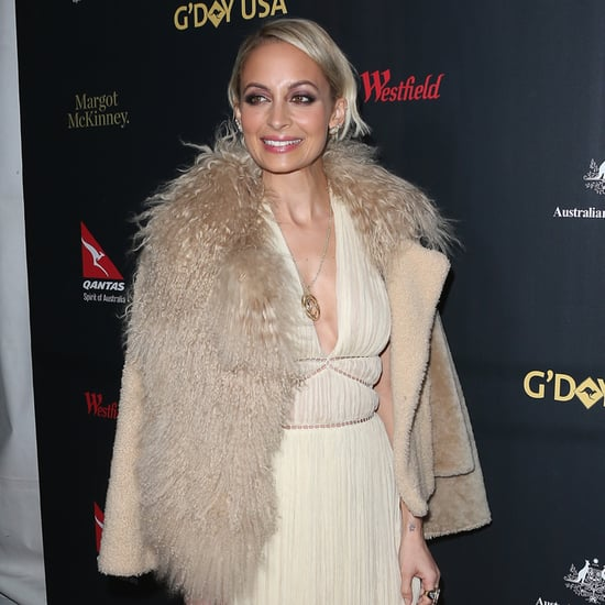 Nicole Richie Red Carpet Dress at G'Day USA Gala 2016