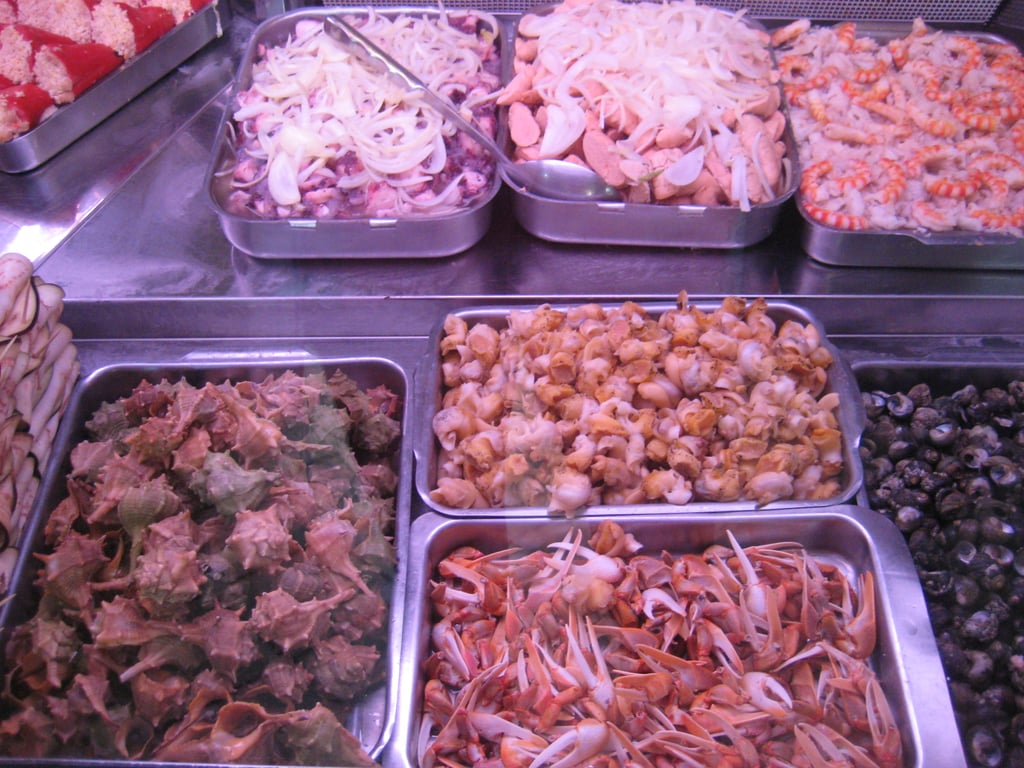 A Wide Variety of Shellfish