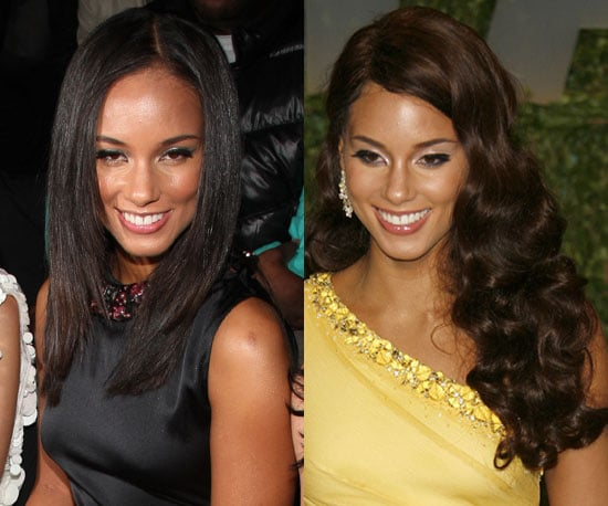 Which style is better on Alicia Keys?