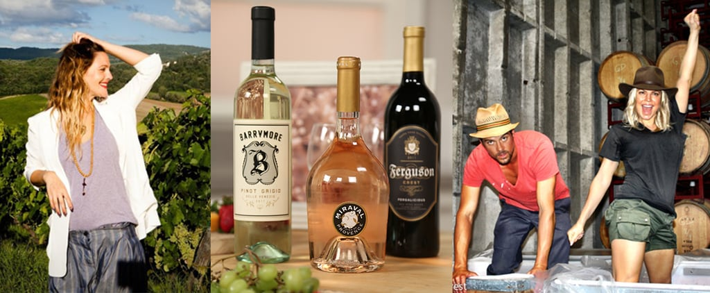 Brad and Angelina's Wine Plus 2 More Celebrity Bottles That Are Actually Great
