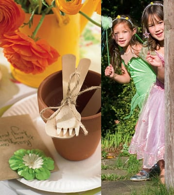 How to Throw Your Daughter a Fairy Flower Birthday Party