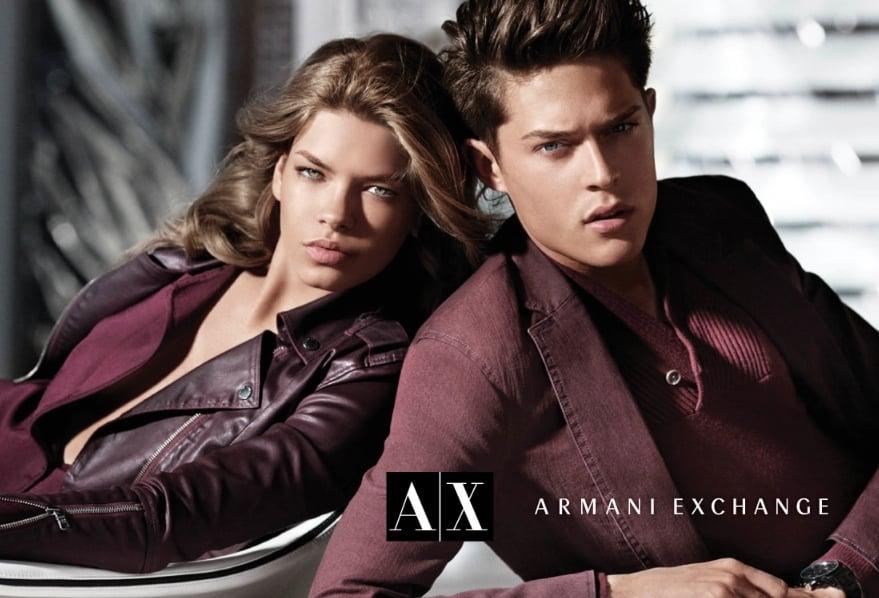 A|X Armani Exchange Fall 2012 Ad Campaign