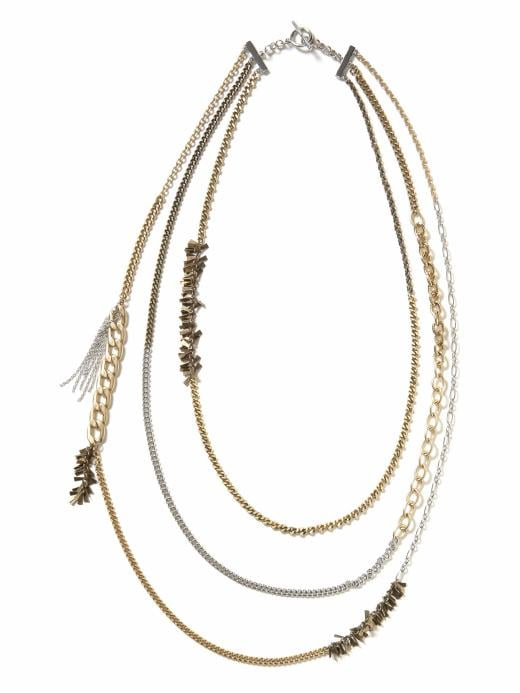 Banana Republic Charisma Chains Necklace ($50)
