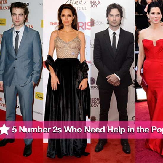 Angelina Jolie and Robert Pattinson in the 2011 PopSugar 100