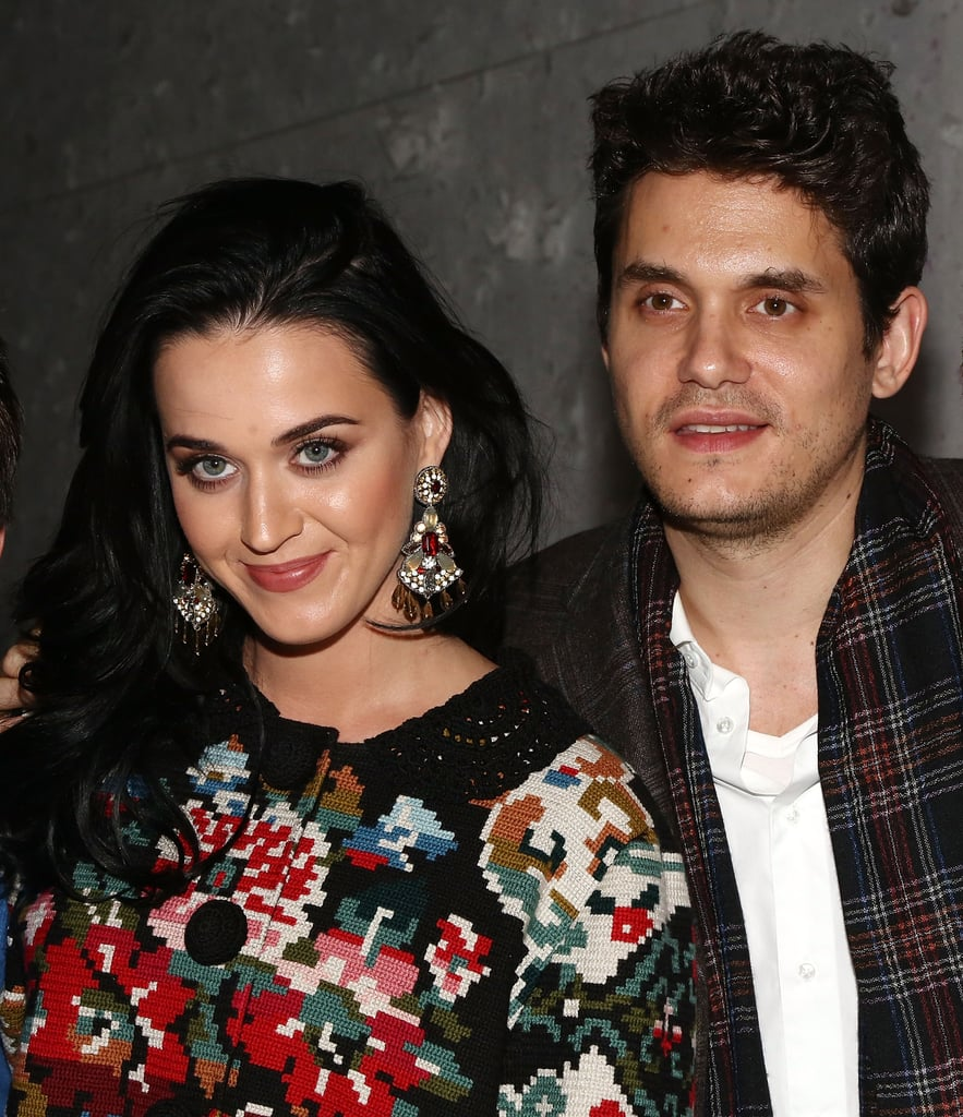 Katy Perry and John Mayer got in the Christmas spirit.