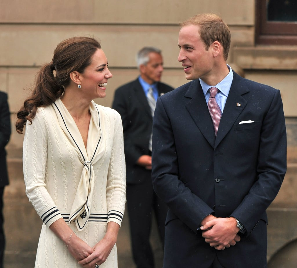 Kate Middleton and Prince William visited Province House in Charlottetown, Prince Edward Island, on July 4.