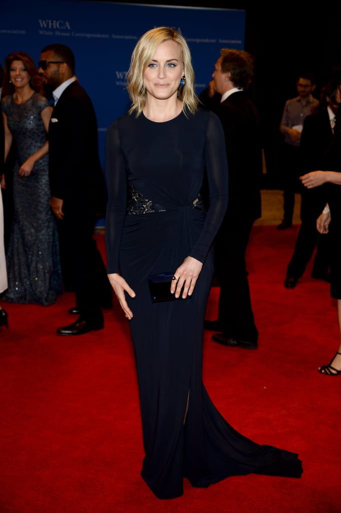 Taylor Schilling was far from the prison in Orange Is the New Black.