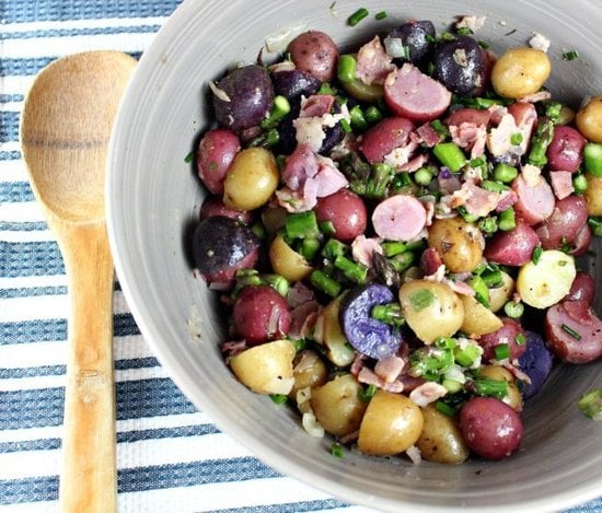 Potato and Asparagus Salad