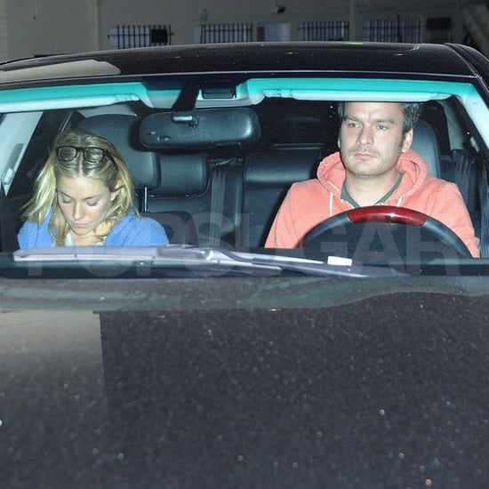 Balthazar Getty and Sienna Miller Out in LA