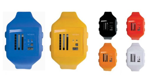 Nooka Watches: Totally Geeky or Geek Chic?