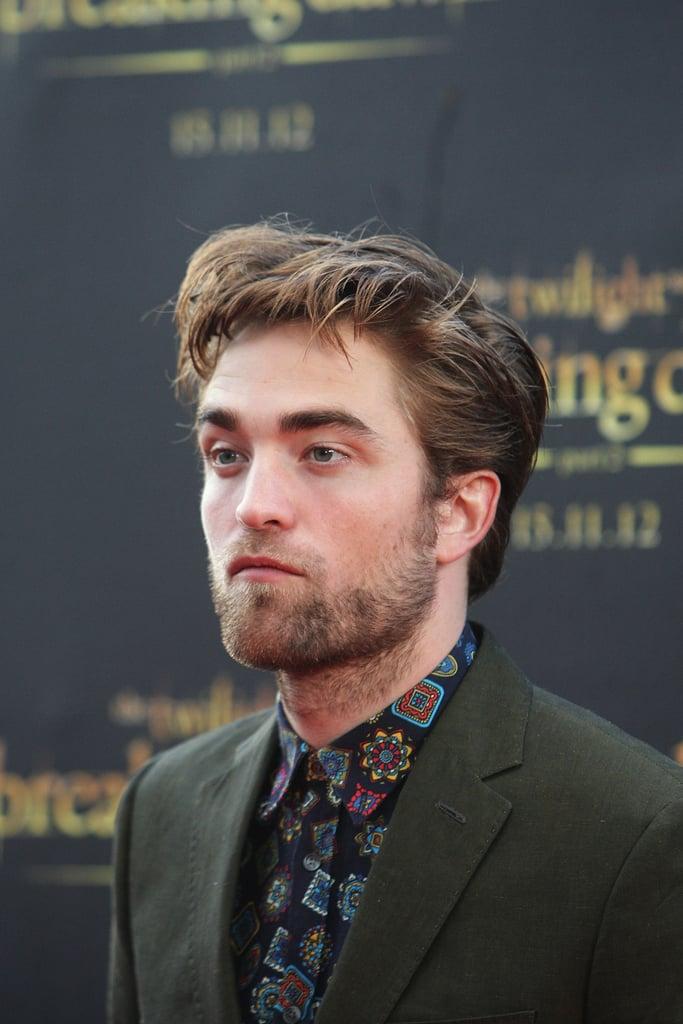 Robert Pattinson spent time in Sydney promoting Breaking Dawn Part 2.