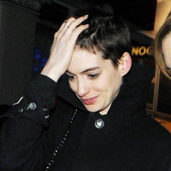 Anne Hathaway New Short Hair