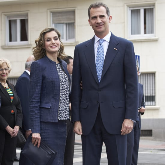 Queen Letizia's Crocodile Suit at the Prado Museum