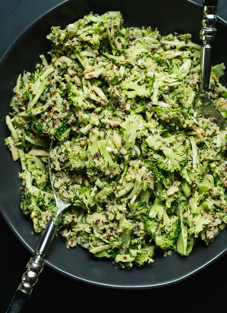Quinoa Broccoli Slaw With Honey Mustard Dressing