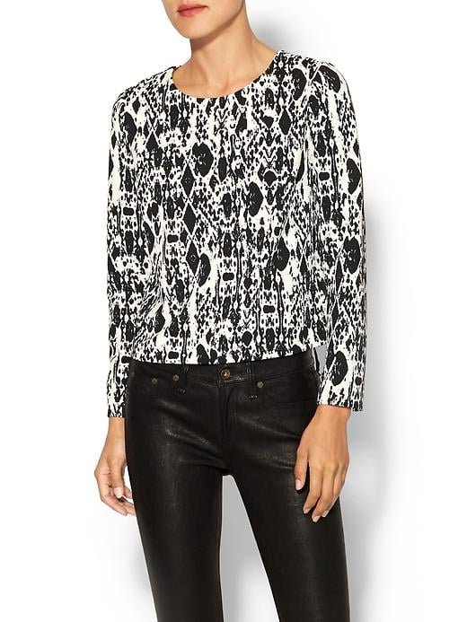Piperlime Collection Printed Top