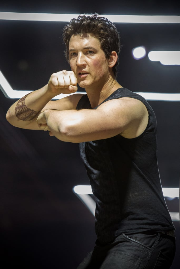 Miles Teller is a competitive foe as Peter.