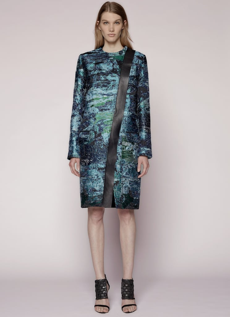 For the woman who wants a unique piece, Proenza Schouler's artsy coat ($3,965) is sure to be a standout.