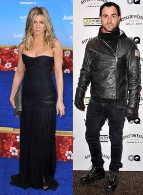 Jennifer Aniston on a Date With Justin Theroux