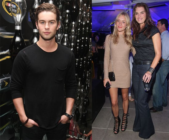 Photos of Chace Crawford, Brooke Shields, Chloe Sevigny at Blackberry Tour Party, Chace to Present at MTV VMAs