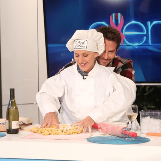 Bradley Cooper on Ellen DeGeneres October 2015