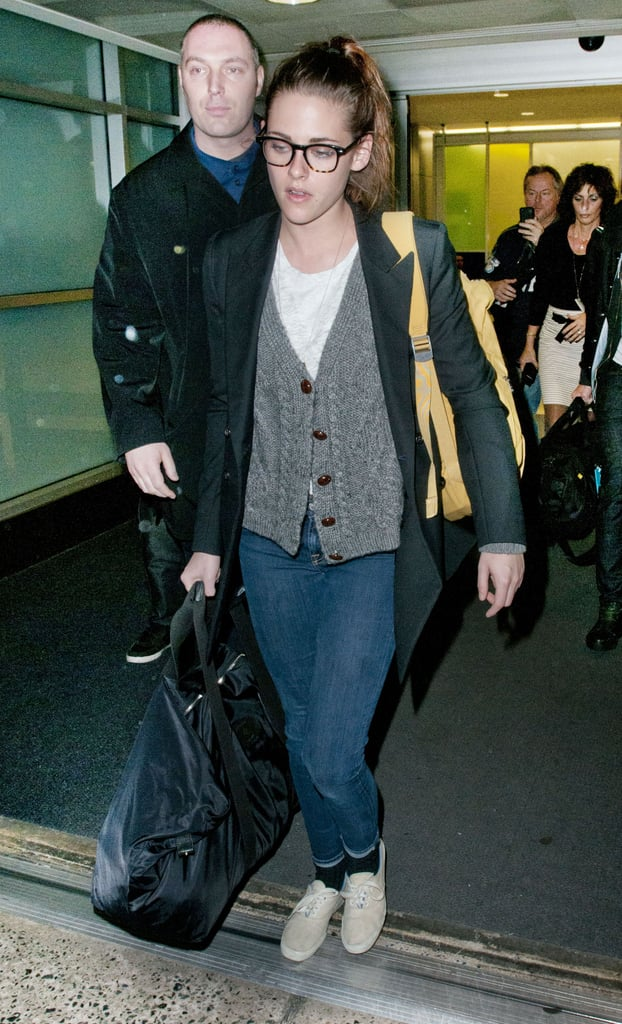 Kristen and Rob Return to New York After English Getaway