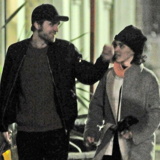 Robert Pattinson and FKA Twigs Walking in London