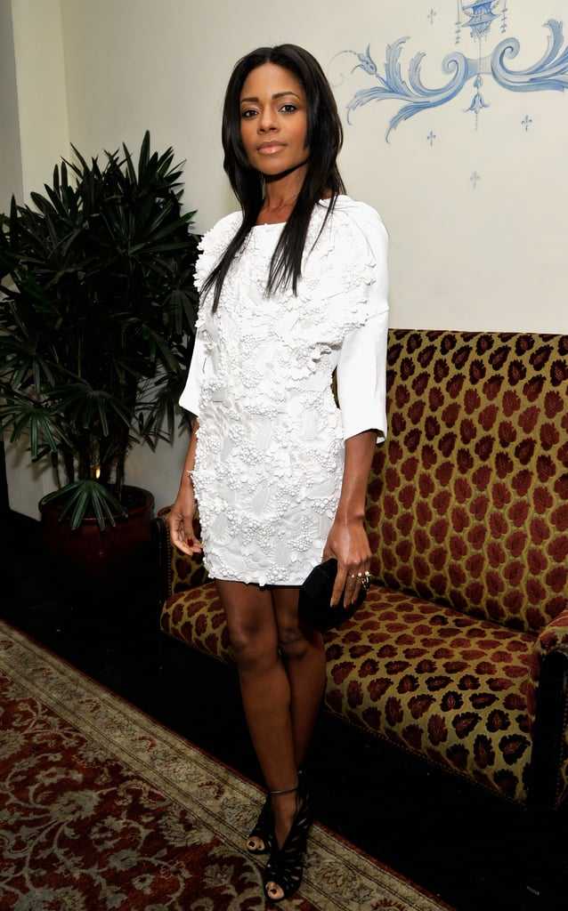 Naomie Harris was a vision in white.