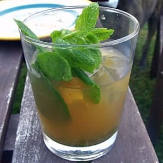 Recipe For Ginger Mojito Cocktail