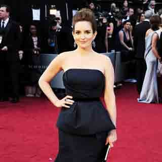 Tina Fey at Oscars 2012